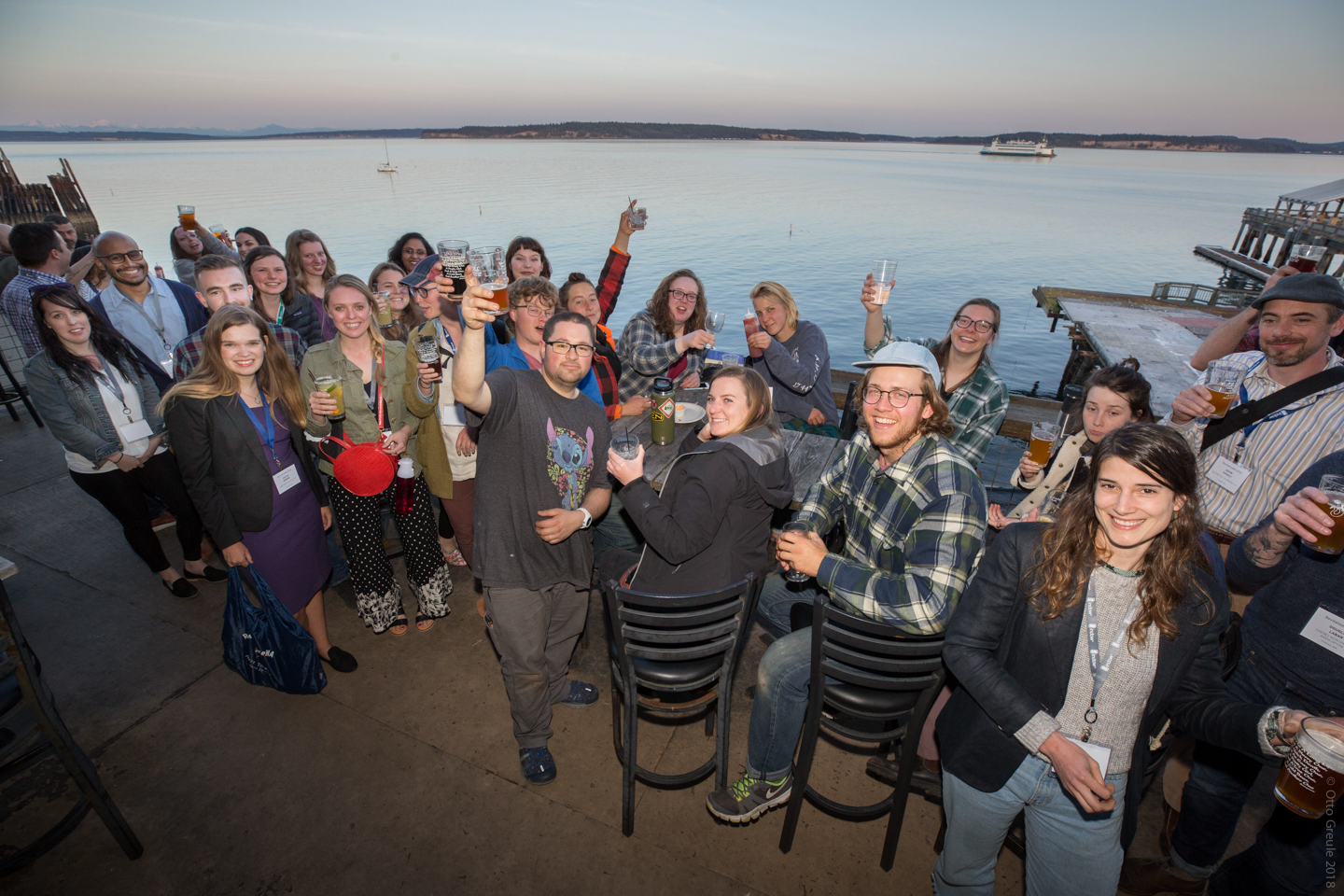 Young Preservationists gather at Sirens Pub in Port Townsend.