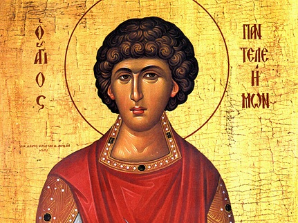 St. Panteleimon the Martyr and Healer - July 27, 305 AD