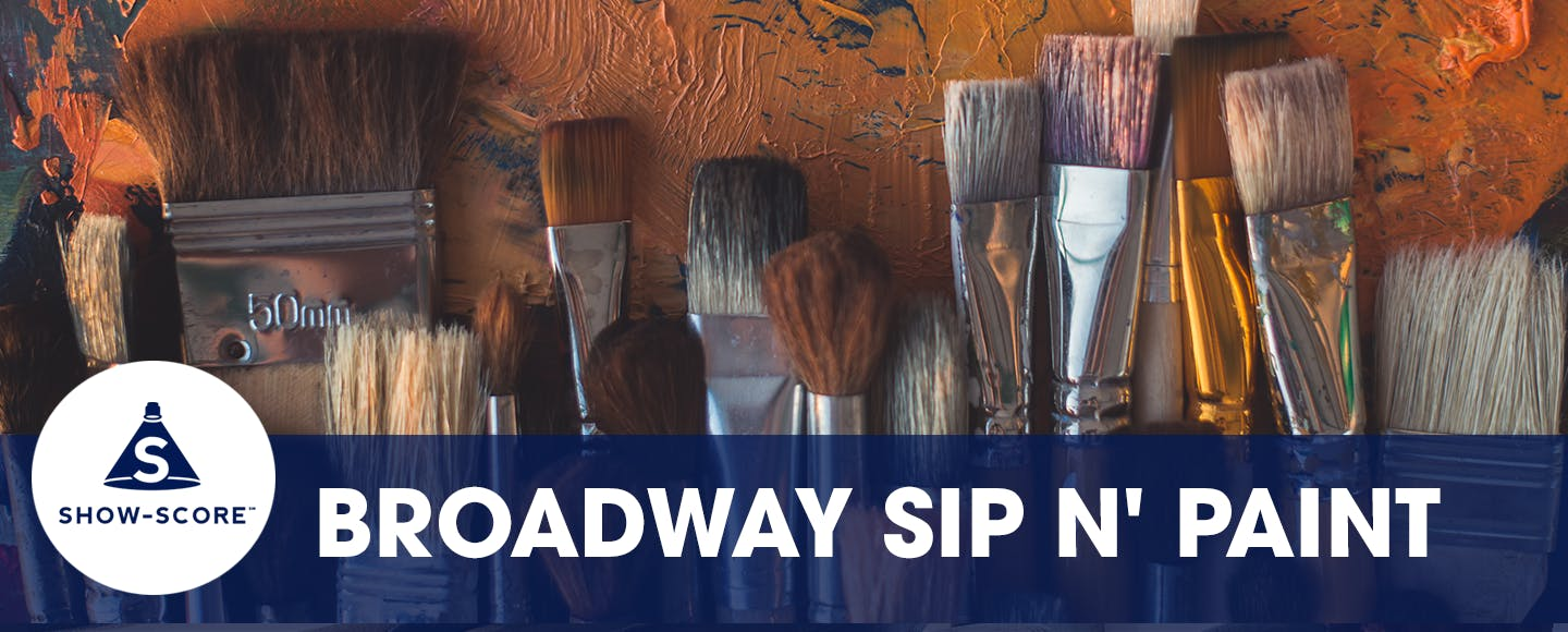 It's Sip n' Paint, Broadway style. You'll be given a blank canvas, a glass of wine, and some Broadway-themed inspo. Check out the different themed nights and bring your inner Bob Ross.   Get tickets >>
