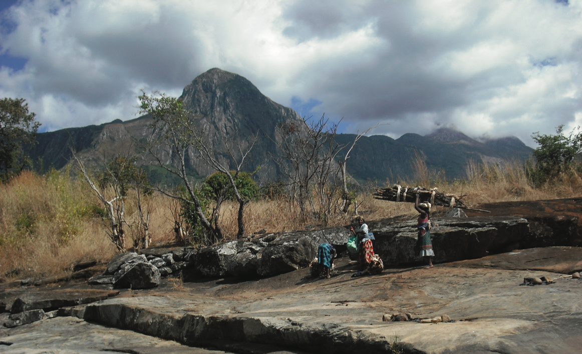 Locals in Phalombe, Malawi