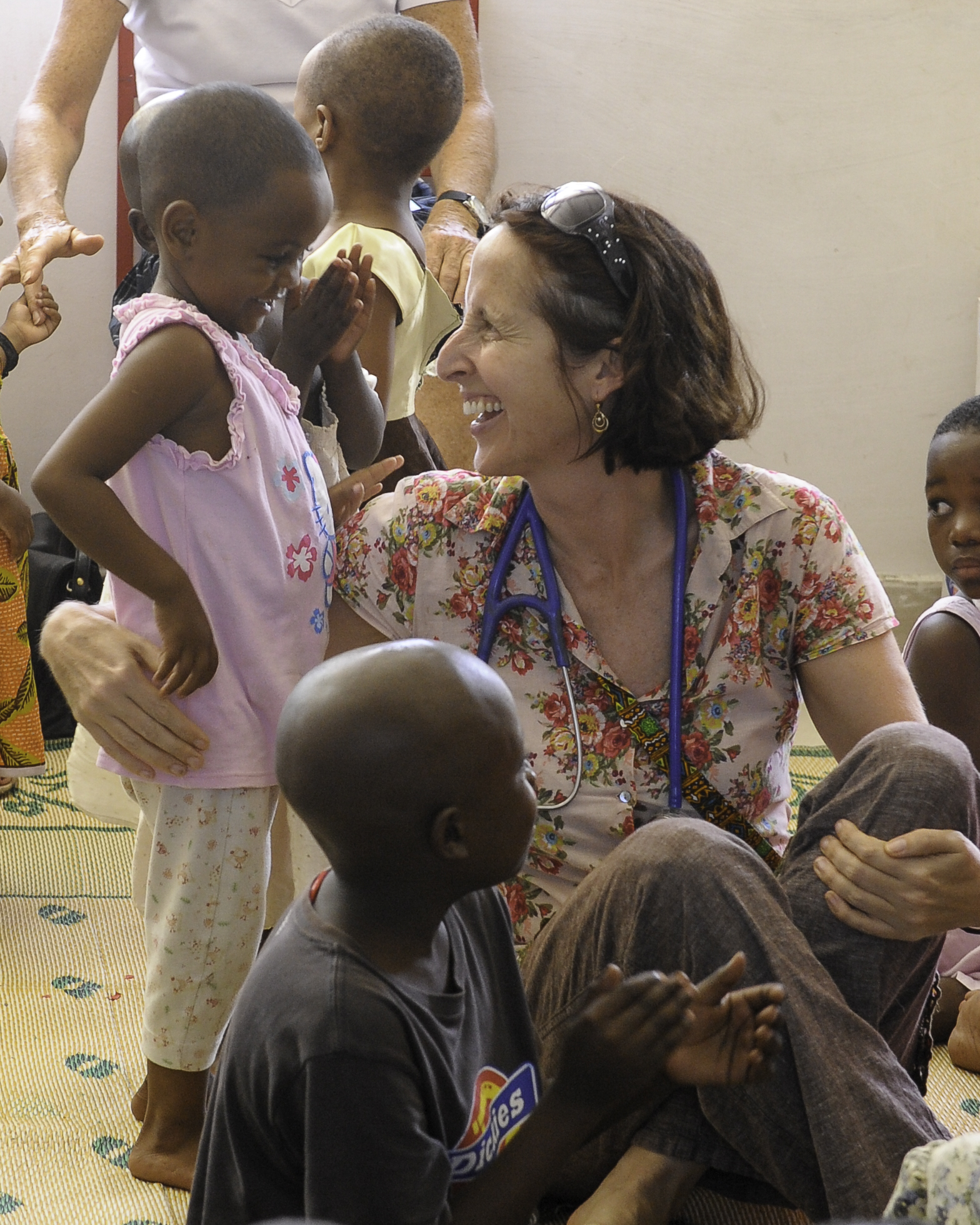 Dr Trish Scanlan and Their Lives Matter staff in Tanzania