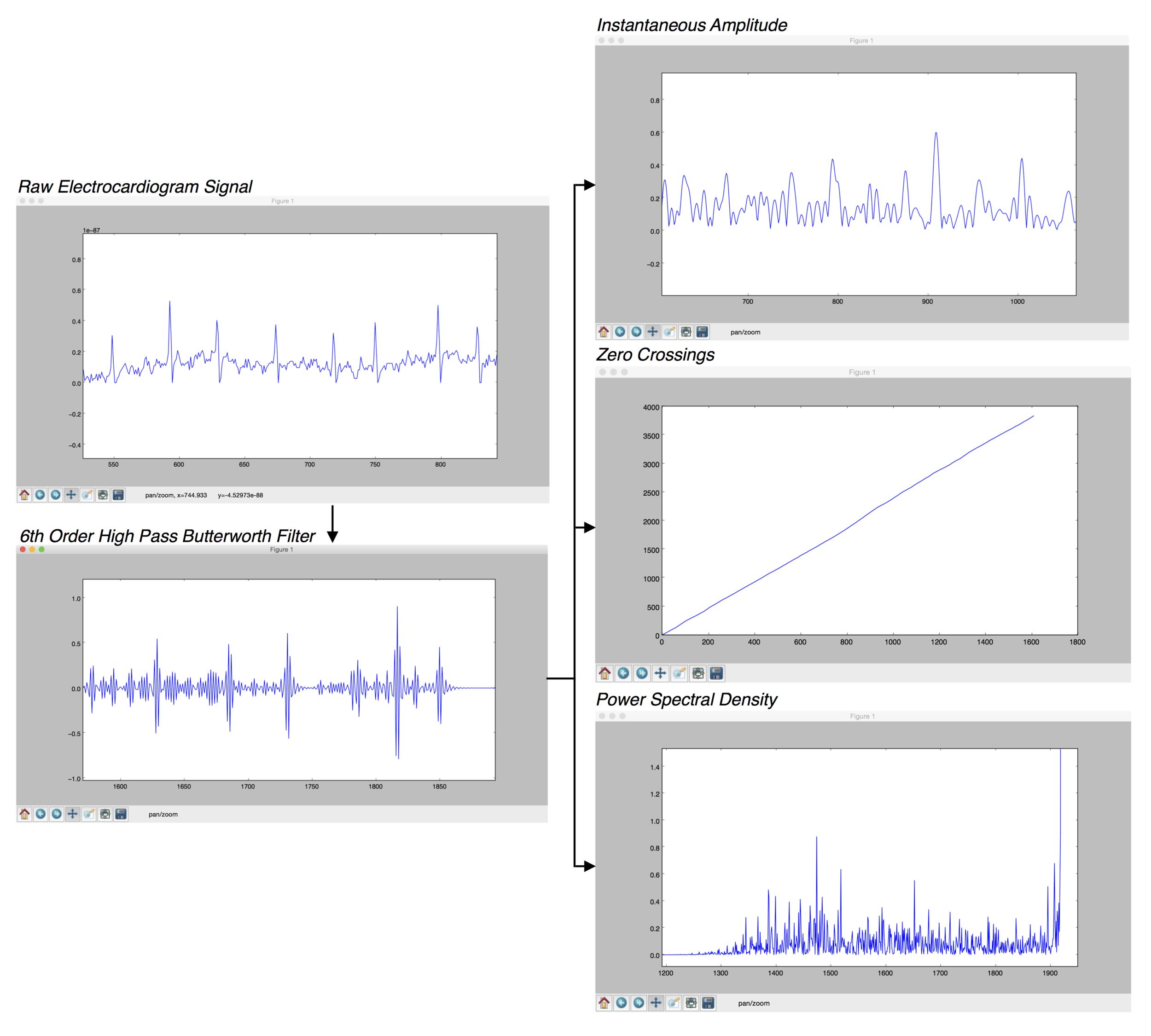 Figure 8: Signal Processing of Sample Signal