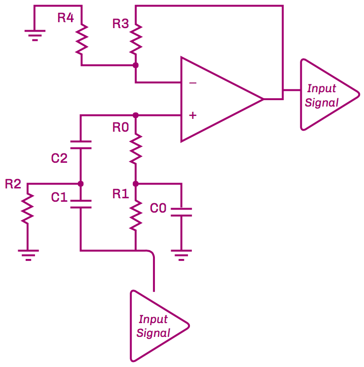 Figure 4: Schematic of Notch Filter