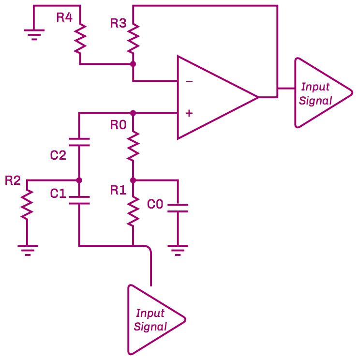 Figure 4: Schematic of Notch Filter