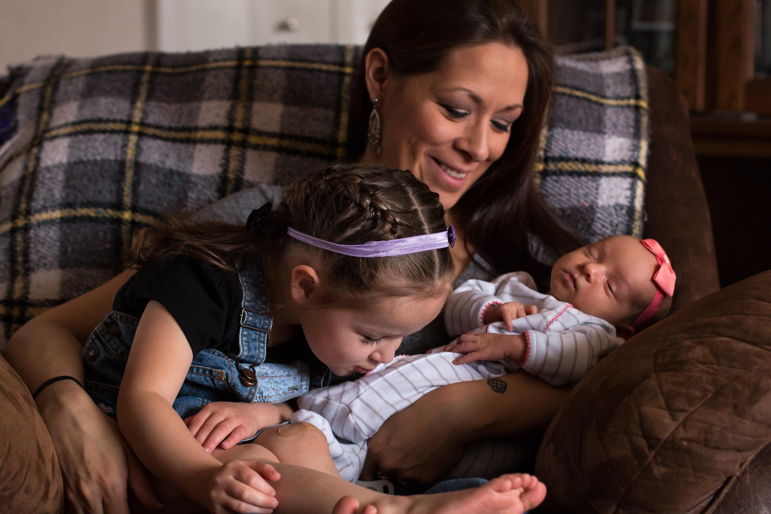 Lifestyle Newborn Session- Lena Grey Photography