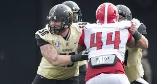 Center Barrett Gouger and the oline opened holes for our backs to rush for 358 yards
