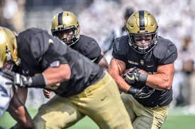 Running back Andy Davidson leads the Army offense against North Texas