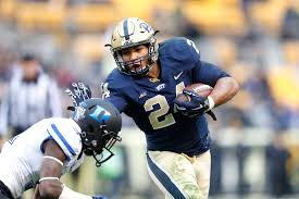 James Connor will try to gain a lot of mileage and get in the end zone for Pitt