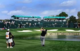 Number 18 at Bay Hill will have some massive fireworks at it on Sunday