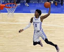De'Aaron Fox (above) and Malik Monk were extraordinary last night