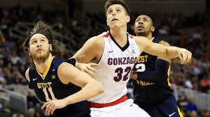 Zach Collins (above, photo courtesy of CBS Sports, Spokane, Wash.) and Jordan Mathews will try to be explosive offensively, and Collins on the glass