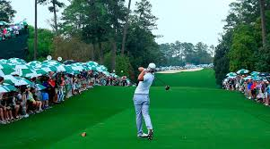 Number 18 at Augusta National is an intimidating drive on Sunday with major drama in store. Photo Courtesy of PGA of Australia