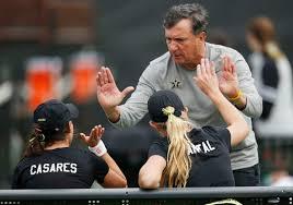 Coach Geoff McDonald and his women's tennis team took 2, the SEC regular season and the conference tourney (Photo courtesy of Vanderbilt University)