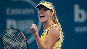 Elina gets a breakthrough victory in Paris (Photo courtesy of Sportie)