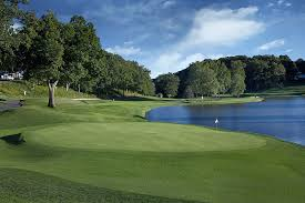 Number 17 at TPC River Highlands will be a heckuva challenge and a pivotal hole for the contenders on Sunday (photo courtesy of TPC. com