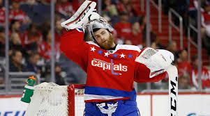 The great Caps' goaltender, Braden Holtby, leads the Washington Capitals to the Stanley Cup title (Photo, Sports Illustrated).