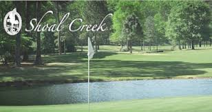 The second shot at the 9th hole at Shoal Creek is pretty daunting. (Photo, Golf Course Rankings).