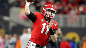 Jake Fromm and Georgia get tested Saturday @ South Carolina (Photo, CBS Sports).