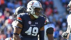 Darrell Williams and the Auburn defense will try to contain Tua and company (Photo, Auburn HobNob).