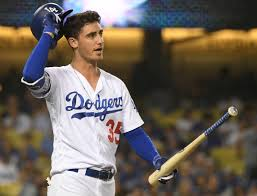"Cody Bellinger and the ""Senior Circuit"" take the All Star game tomorrow night in Cleveland (Photo Dodgers Nation)."