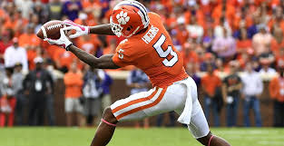 Tee Higgins (above, photo, 247 sports) and Justyn Ross (Below, photo, New York Post) form a phenomenal wide receiving tandem for Trevor Lawrence and Clemson