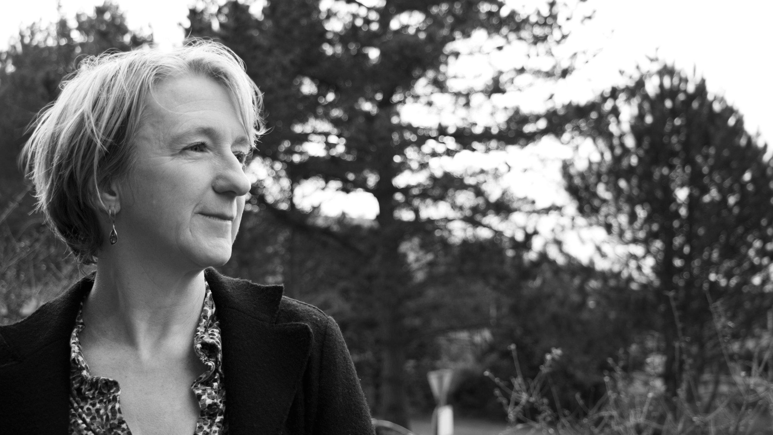 Translator: writer, Gwen Davies photographed by Jess Raby