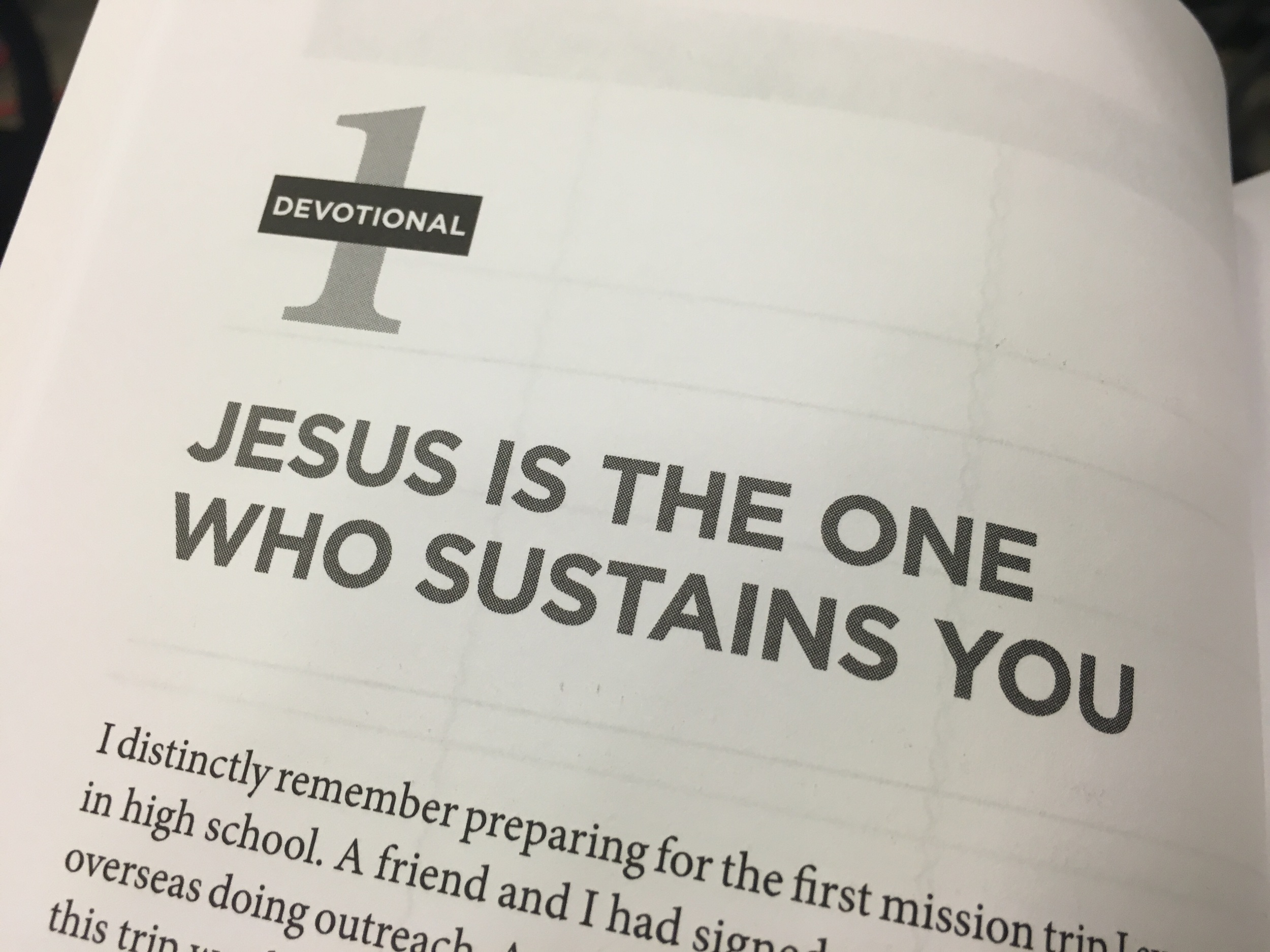 Pray the students find Jesus as their main source for life