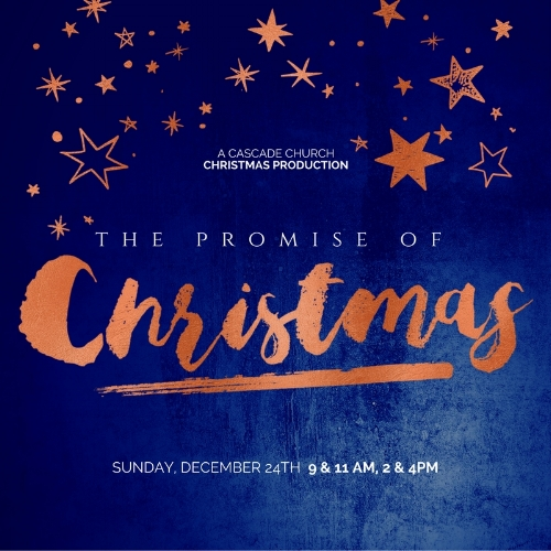 The Promise of Christmas - Experience Advent: LoveChristmas Eve culminates the Advent Season! Enjoy this very special service as we discover the promises of God, and the fulfillment of those same promises in the birth of Jesus...a wonderful expression of His great love for us.