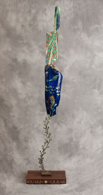 """""""Ocean, Earth, Sky"""", 2012-13 (3 meters in height)"""