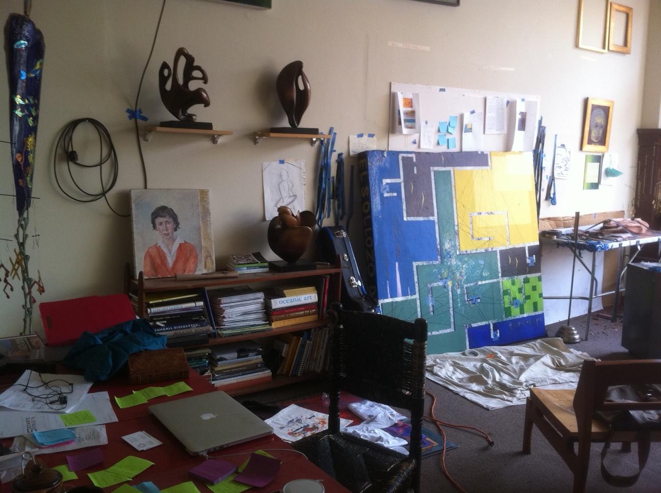 The studio beckons...