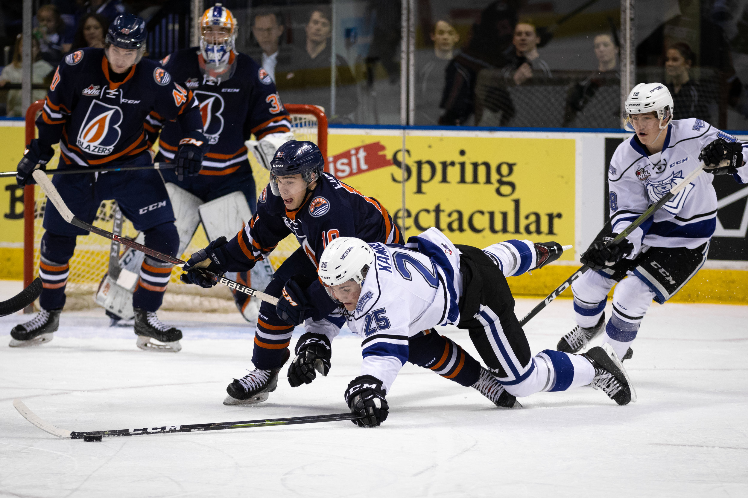 #25 Dino Kambeitz - Game 2 - WHL Playoffs 2019 Victoria Royals VS Kamloops Blazers - March 23 2019 (4-3 Loss). Photo by Jay Wallace-20311.jpg