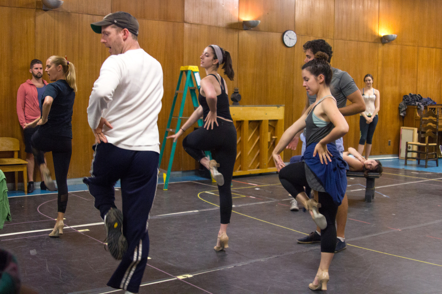 Rehearsal for The Mystery of Edwin Drood