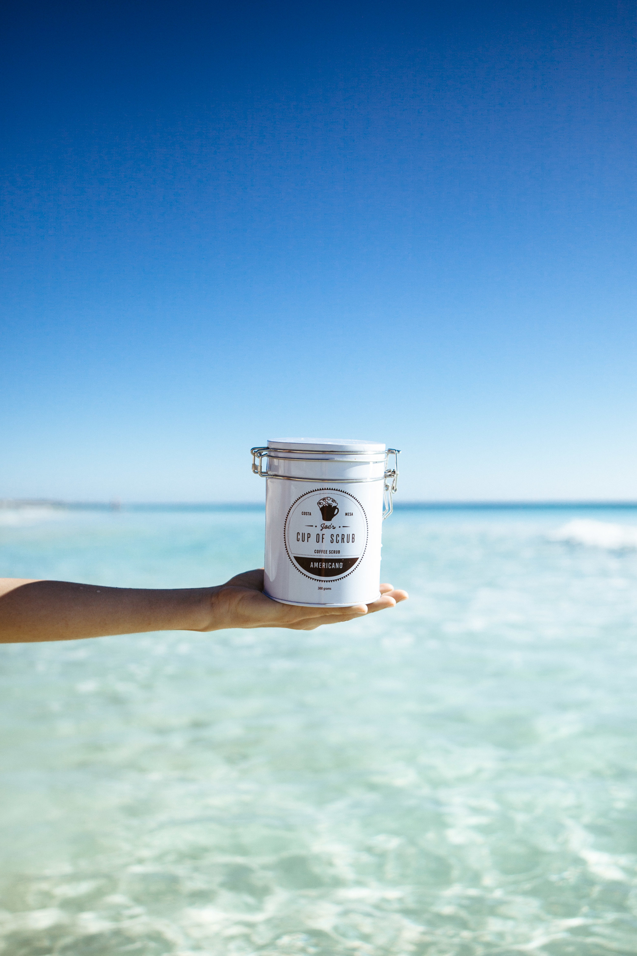 Wake that skin up - Joe's Cup of Scrub is an all natural coffee based body scrub that can be used on all skin types. Our small batch coffee scrub helps numerous skin conditions including acne, cellulite, and even stretch marks. A perfect addition to any household bathroom, our coffee scrub utilizes the skin enhancing ingredients of cold pressed coconut oil, organic coffee grounds, brown sugar, cinnamon, and charcoal infused black Hawaiian lava salt... and that's it. No chemicals, no parabens, all natural where each ingredient provides essential benfits to make your skin radiant and healthy. Learn more about the ingredients and there uses here. As in click the word