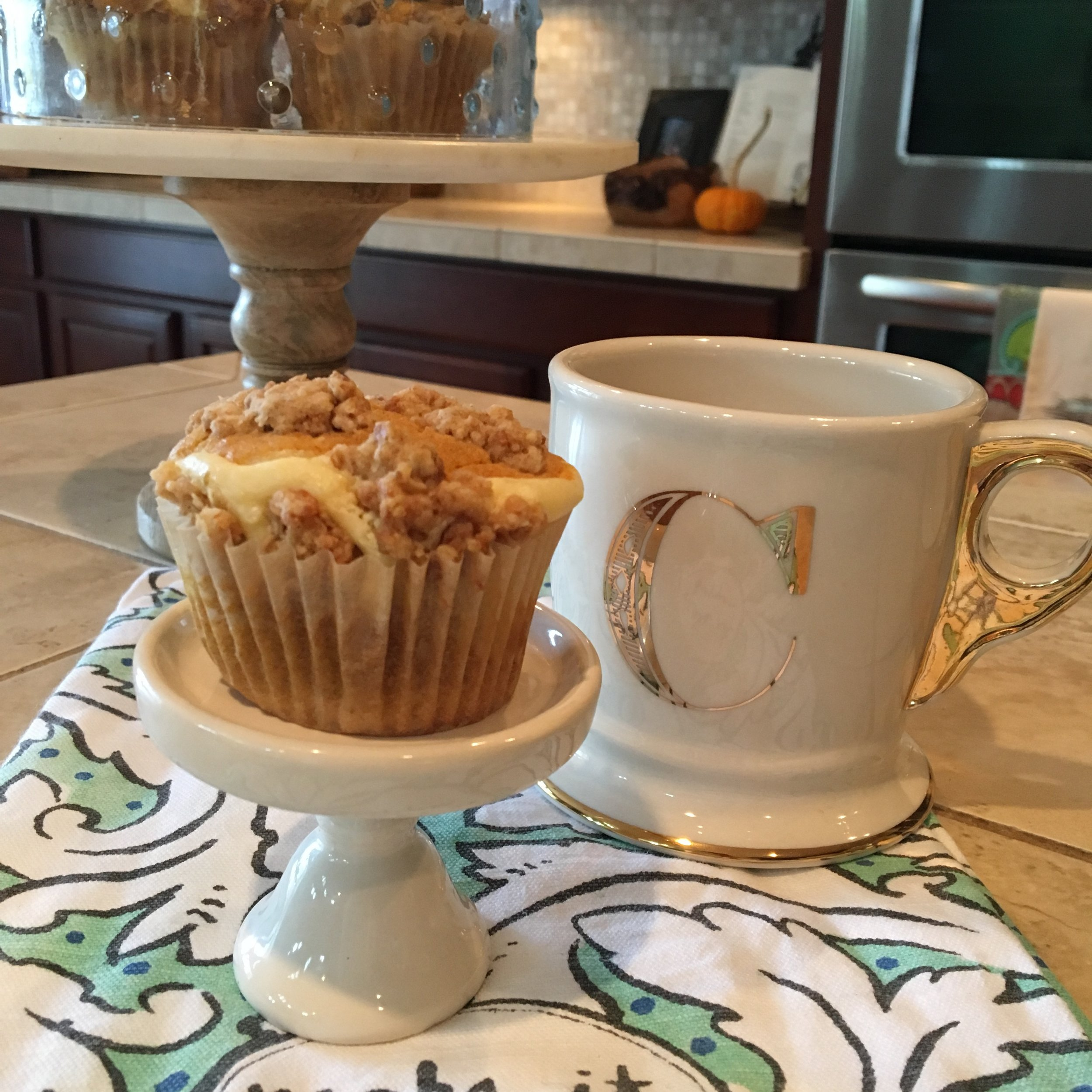 Pumpkin cream cheese muffin - The Happening Home