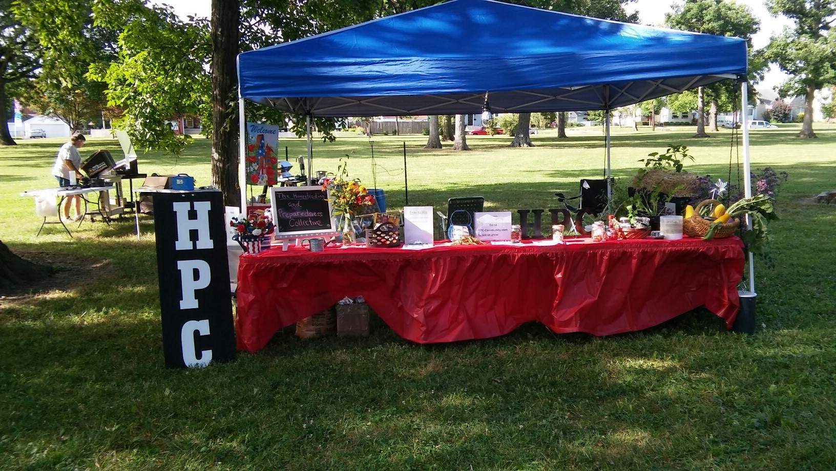 HPC - The Homesteading and Preparedness Booth at The Westgate Summer Jam 2016