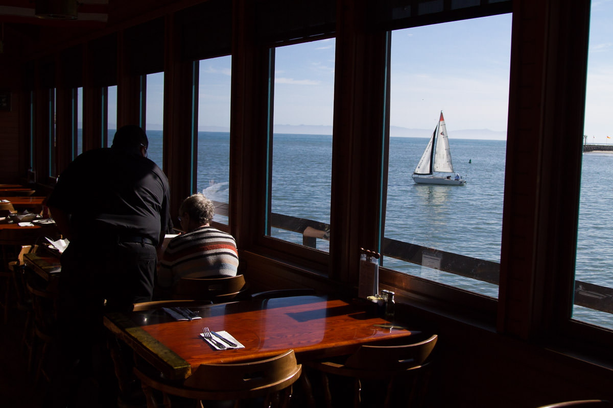 Restaurant View Santa Barbara