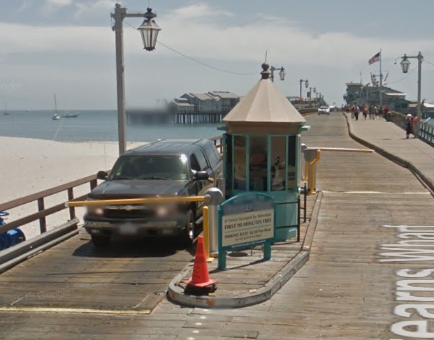 Stearns Wharf Toll Booth