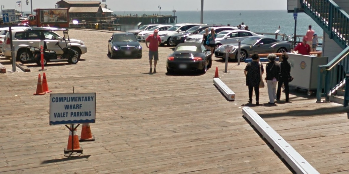Valet Parking Stearns Wharf