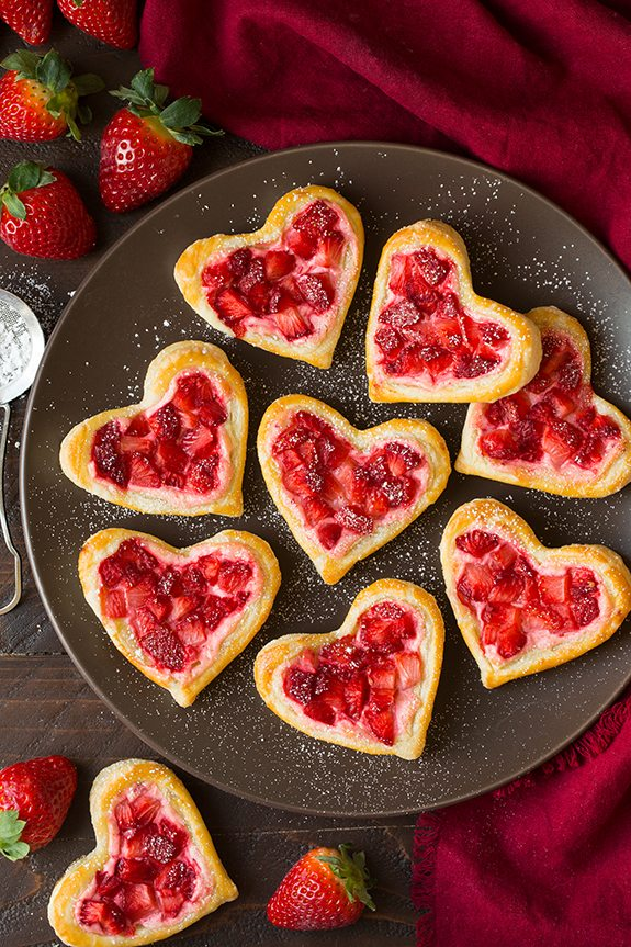 Valentines Day Pastries