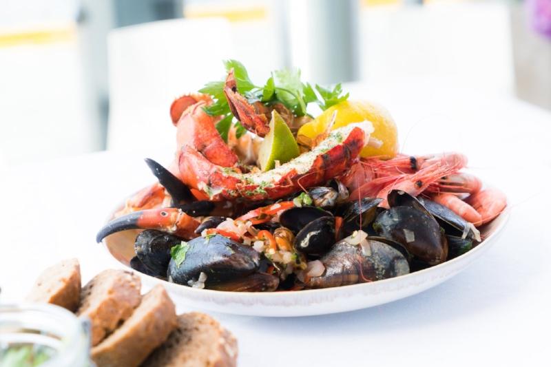 seafood, shrimp, shellfish