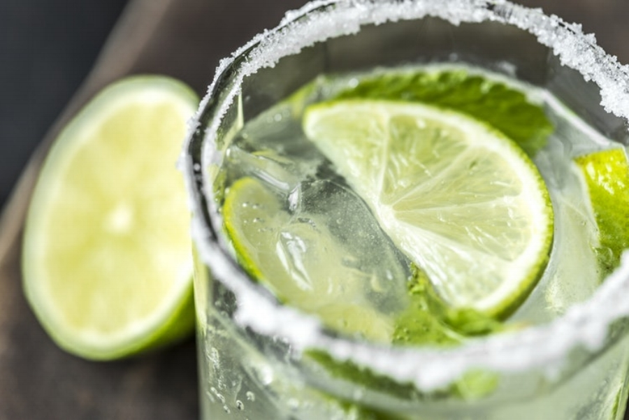 margarita, lime, tequila, drink