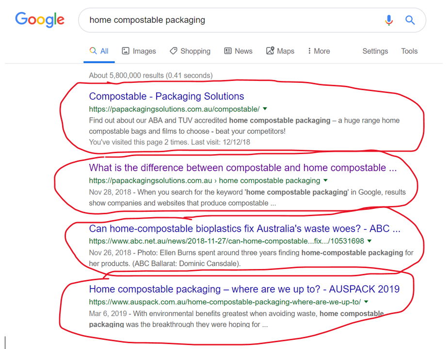 Google Page 1 for home compostable packaging.png