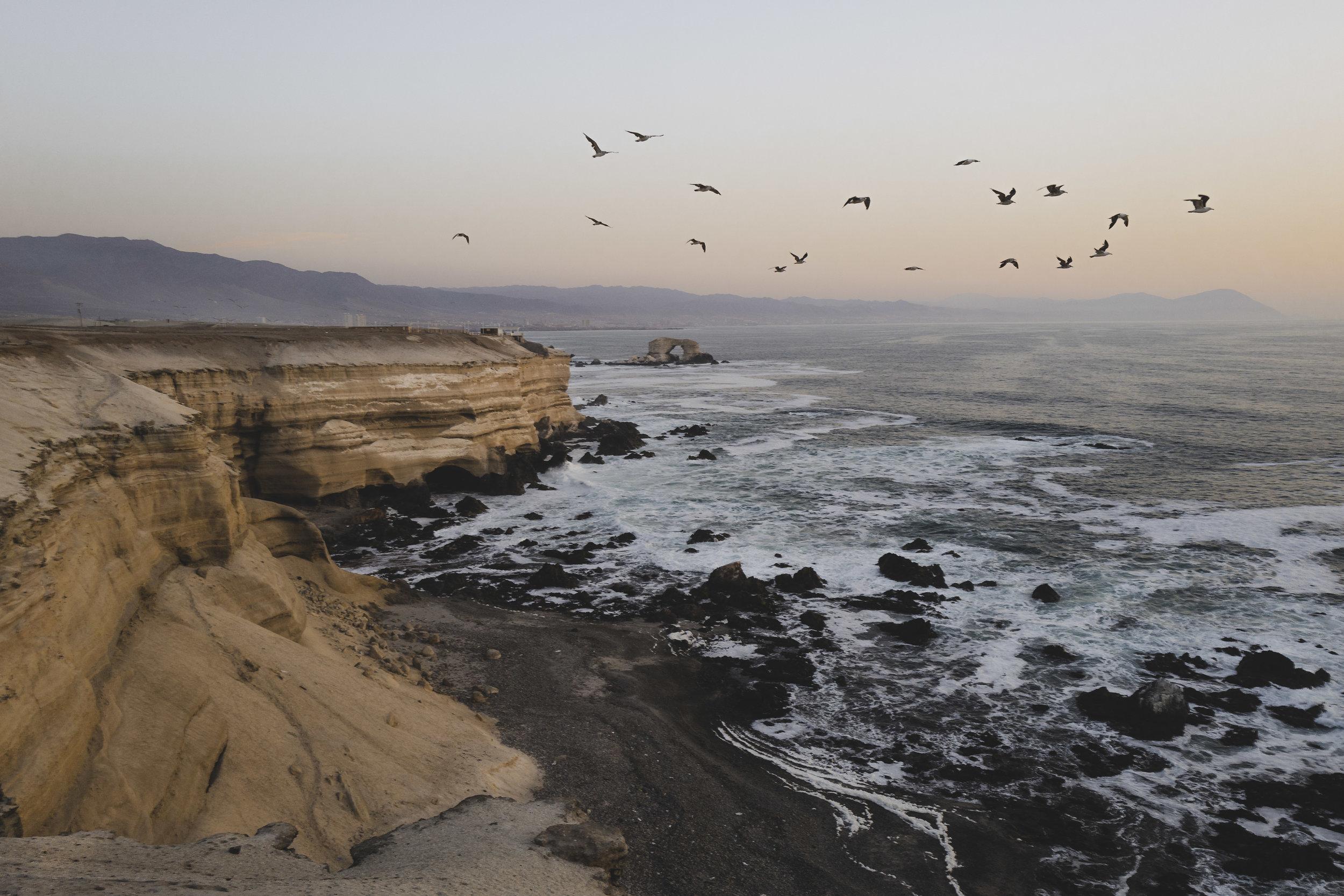Near La Portada, Antofagasta, Chile