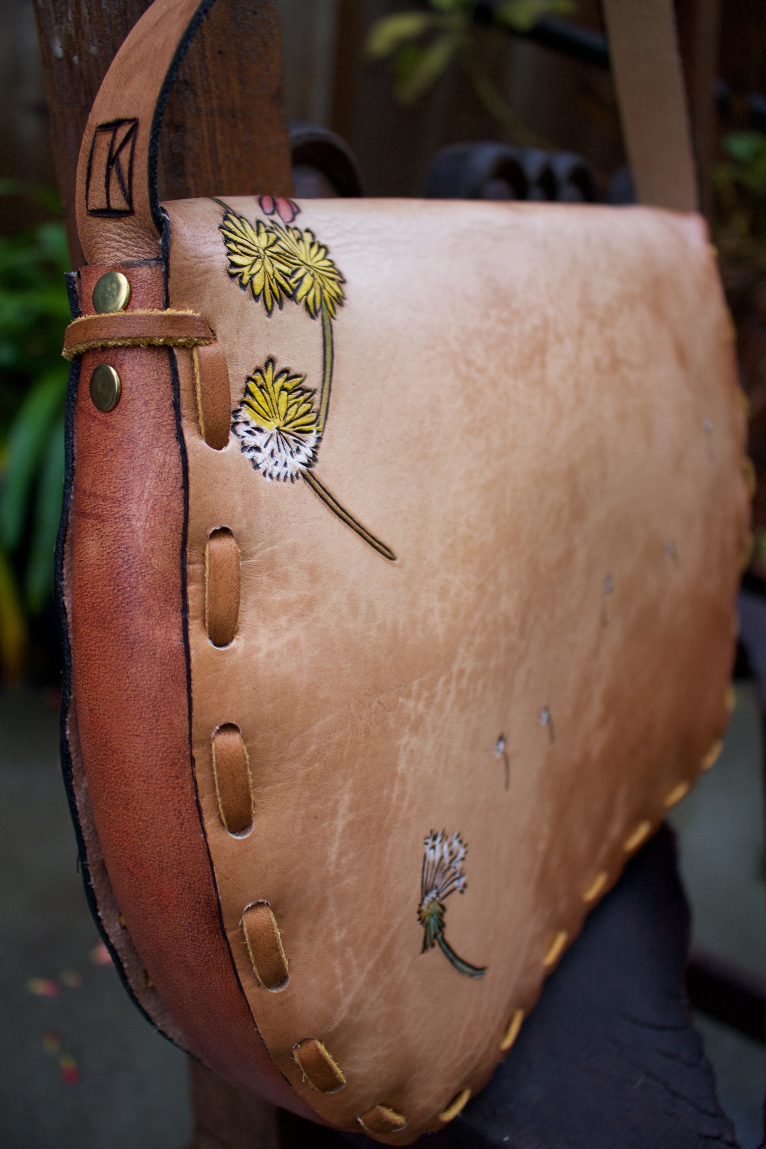 water to flowers leather purse 3.jpg