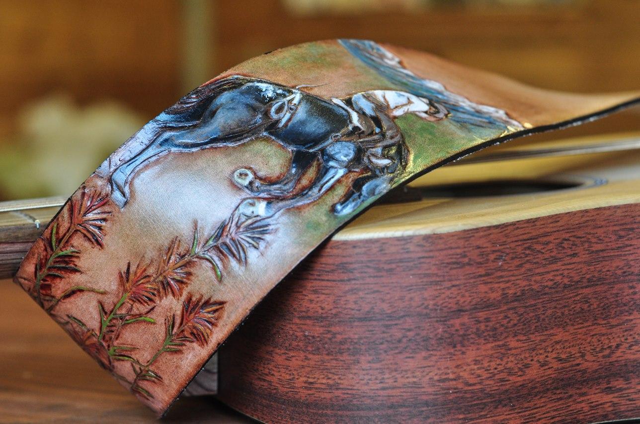 cowboy guitar strap Linny Kenney.jpg