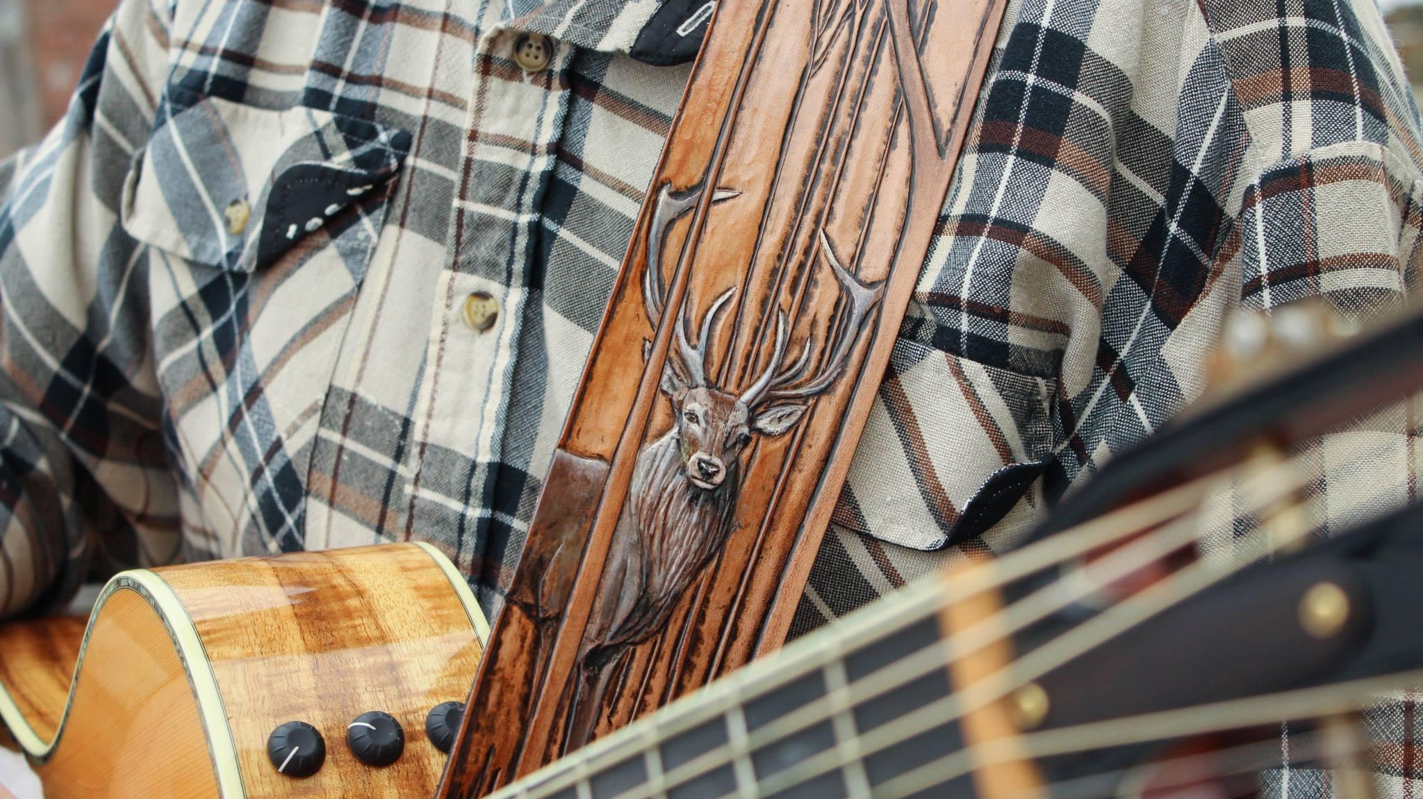 Deer Guitar Strap Linny Kenney.jpg