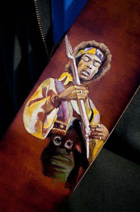Jimmy Hendrix Guitar Strap Linny Kenney.jpg