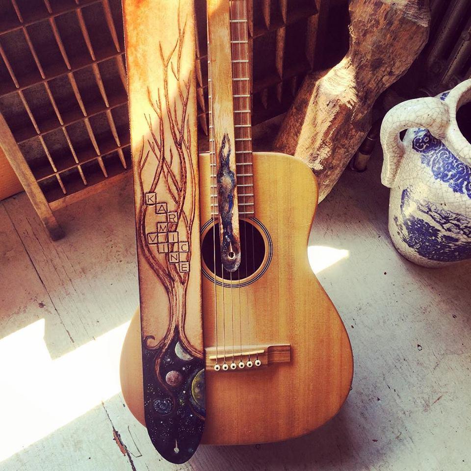 Karmic Vine Guitar Strap Linny Kenney.jpg