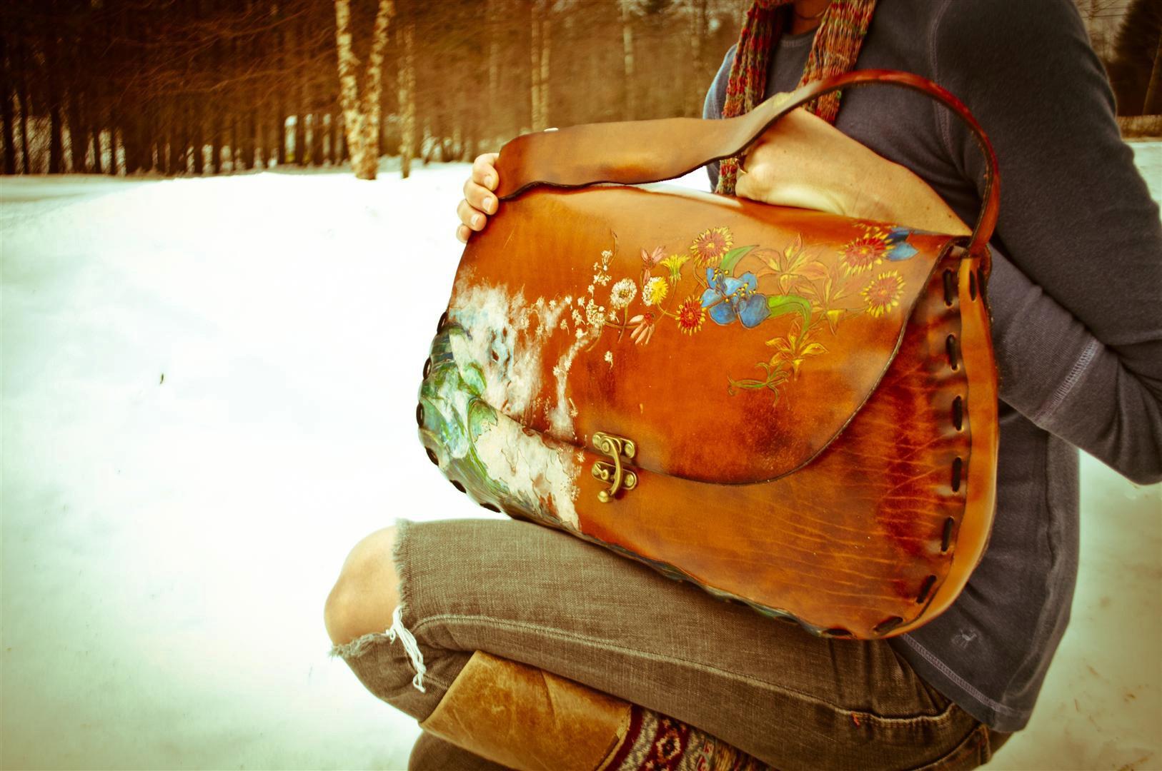 pisces meet taurus bag Linny Kenney.jpg