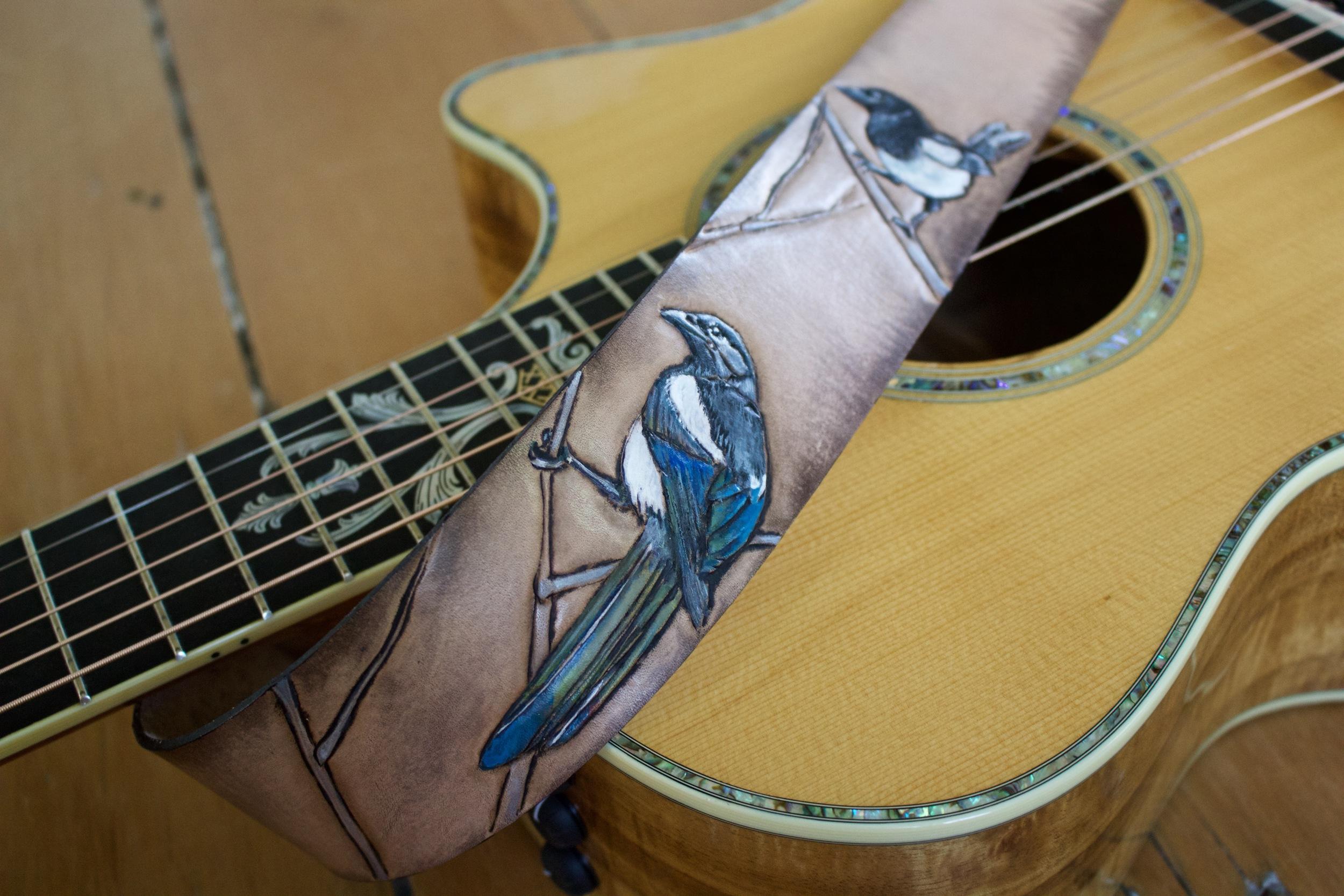 Magpie guitar strap tallest man on earth.jpg